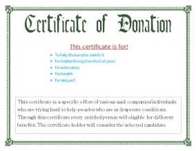 Donation Certificate Template by Donation Certificate Template Certificate Templates