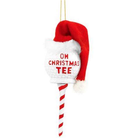 GetGags.com   Gags for you   Oh Christmas Tee Golf Ball Ornament