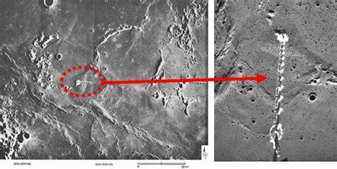 imagenes sorprendentes de la nasa estructuras en la luna denunciante de la nasa revela la