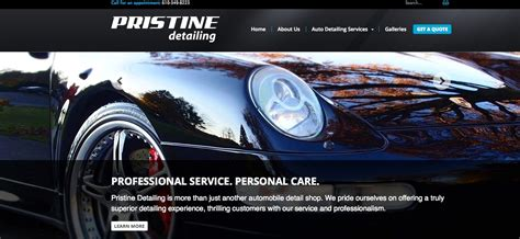 Altitude launches new website for Pristine Detailing