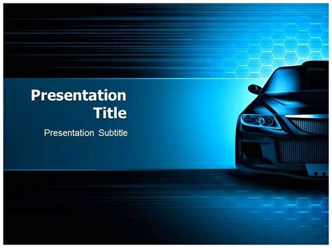 powerpoint themes cars professional powerpoint template car template