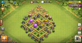 Thropy base clash of clans th 5 terkuat design base clash of clans