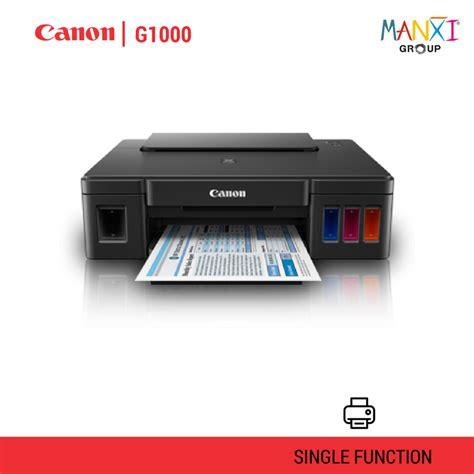 Tinta Printer Canon G1000 Jual Printer Canon G1000 Murah Dan Bergaransi Toko