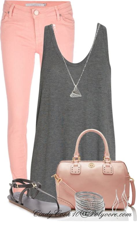 the pink and grey look nice with the paint color eden s casual summer fashion for women over 40 2018 become chic