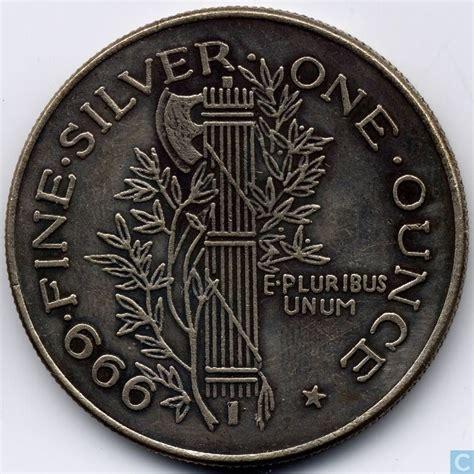 1 ounce silver coin value usa 1 ounce silver replica coins catawiki