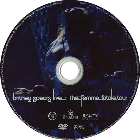 Dvd Live The Femme Fatale Tour car 225 tula dvd de live the