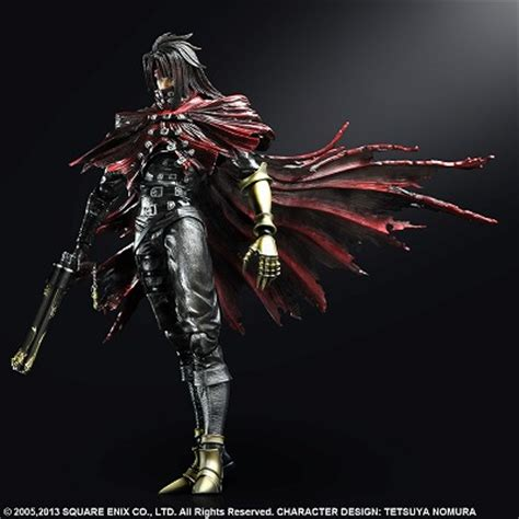 vincent play arts vii advent children play arts改vincent