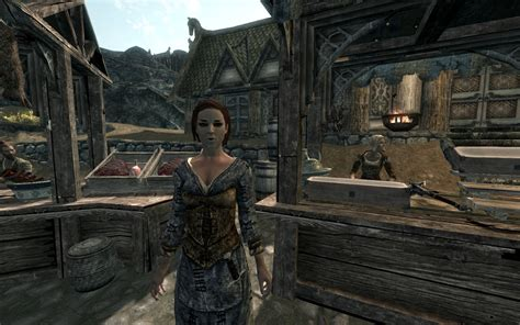 skyrim change npc hair skyrim nexus hairstyles for npcs less talkative npcs at