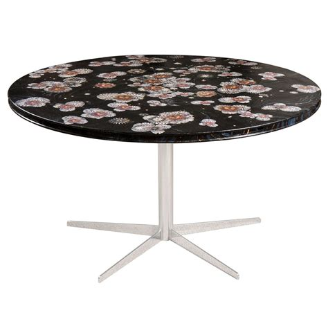 Decoupage Table Top - dining table with decoupage top at 1stdibs