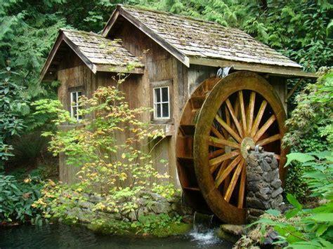 backyard water wheel every garden needs a water wheel backyard waterfalls