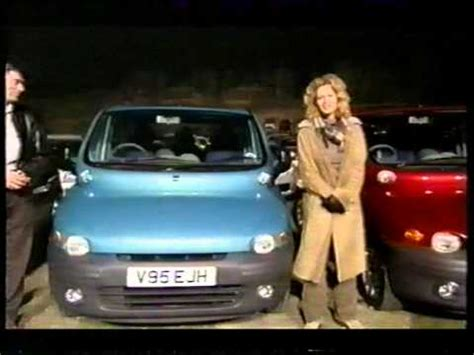 fiat multipla top gear fiat multipla top gear car of the year 2000 youtube