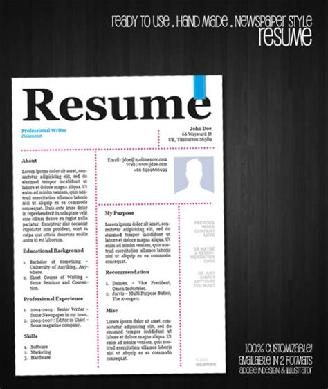 free creative resume templates 2015 resume exles templates best 10 creative resume templates free doc word and pdf