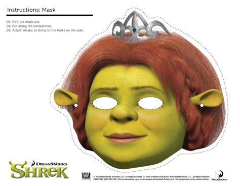 printable shrek mask shrek photo booth props print free printable shrek mask