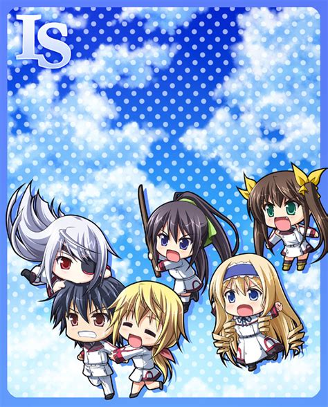 Ichiban Kuji Is Infinite Stratos 2nd Accel Cecilia Alcot 78 infinite stratos chibi chibi infinite stratos dunois simple background wallpaper