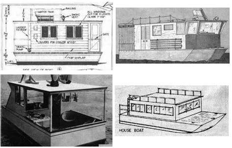 flat bottom houseboat plans 187 wooden houseboat planswoodplansdiy