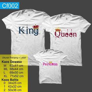desain kaos couple king queen kaos couple family buat keluarga bikin kaos keluarga