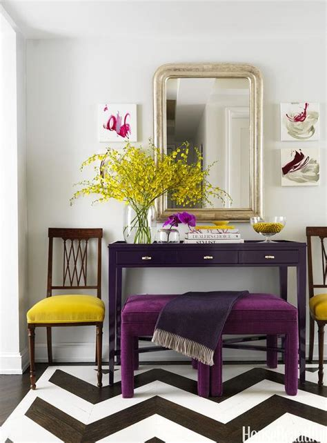 yellow foyer yellow and purple foyer contemporary entrance foyer