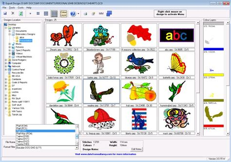 embroidery design viewer software viewer tool picture gallery
