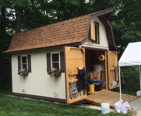 How To Roof A Barn Style Shed by Gambrel Barn Style Sheds