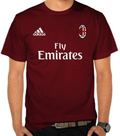 Kaos Jersey Dc A 9070 jual kaos ac milan t jersey 2 liga italia satubaju