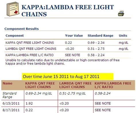 kappa and lambda light chains jm s adventure with multiple myeloma kappa lambda free