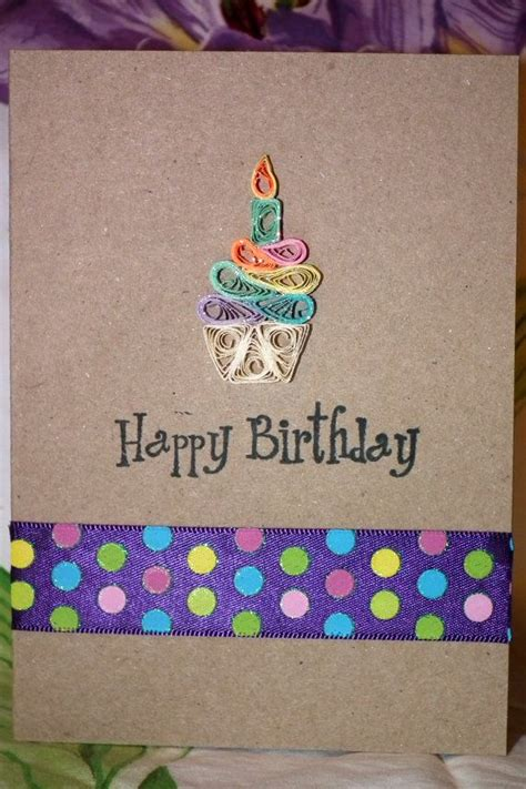 Birthday Cards Through Pin By Fawn Ware On Quilled Birthday Cards Pinterest