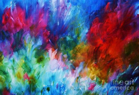 painting with colours burst of colour photograph by wood