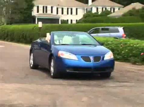 pontiac g6 2007 reviews 2007 pontiac g6 convertible review