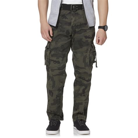 Camouflage Your Shopping by Rebel Soul S Belted Cargo Camouflage