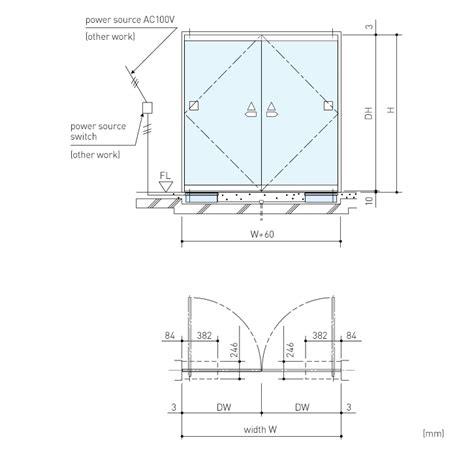 door to door lines df 41 swing door operator swing door folding door