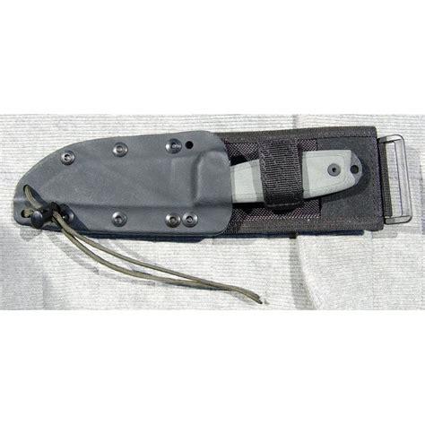 rc 4 knife couteau de survie esee knives rc 4 w molle back sheath