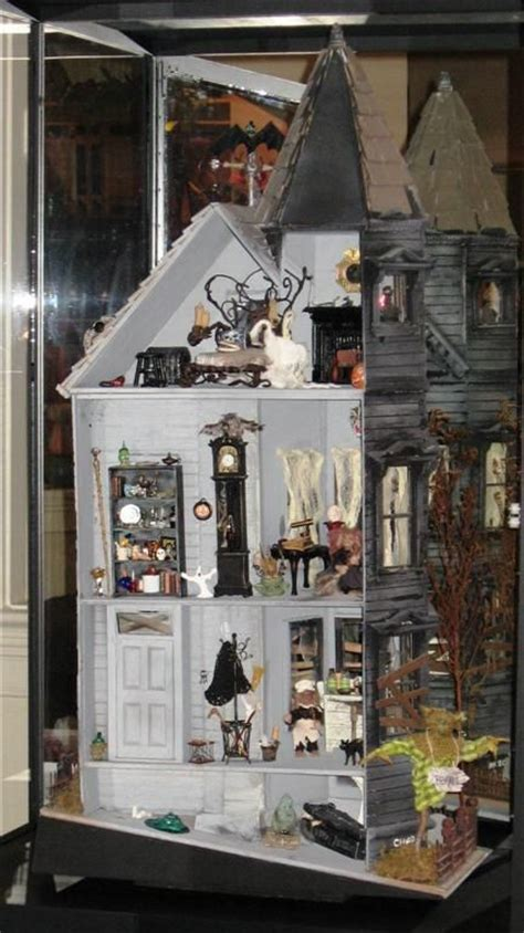 halloween doll house haunted doll house halloween pinterest