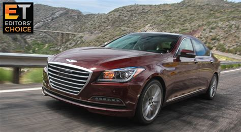 2015 Hyundai Genesis review: The best tech midsize car at