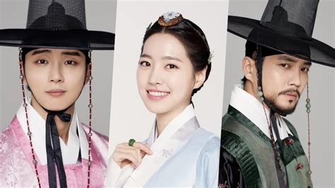 dramacool joseon gunman grand prince releases new character photos for main cast
