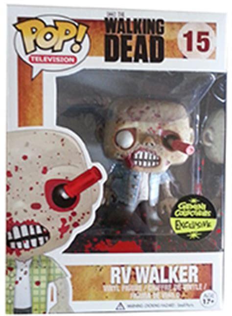 Funko Pop The Walking Dead Rv Walker funko pop walking dead figures guide checklist exclusives list set