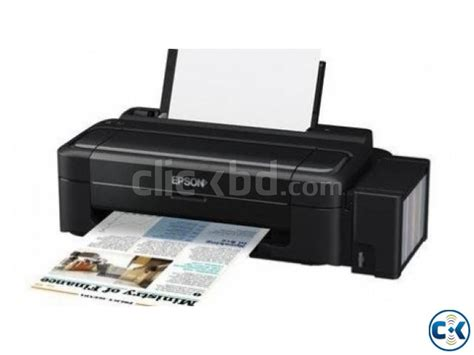 Printer Epson L300 Tinta Sublime Epson L300 Inkjet Printer Clickbd