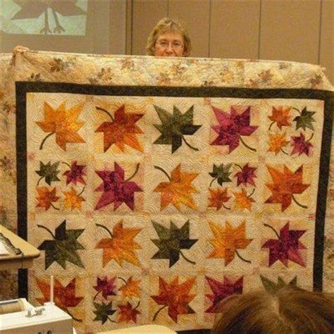 eleanor burns autumn leaf quilt pattern fall quilts