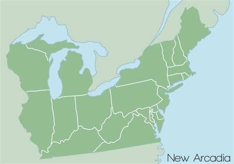 northeastern cus map northeastern united states map by bcmatsuyama on deviantart