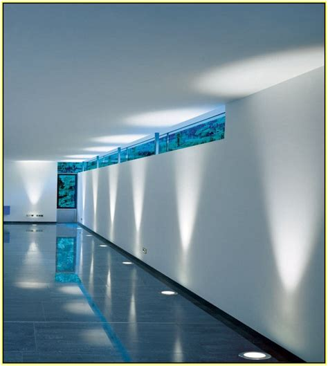 the recessed led floor lights home design ideas within