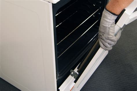 How To Take A Door by How To Replace An Oven Door Outer Glass Panel Repair
