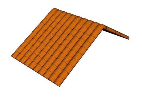 Ceramic Roof Tiles Ceramic Roof Tile Cad Blocks Free