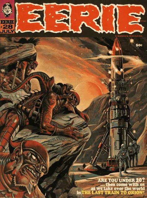 Creepy Books Covers Energy eerie 28 cover pat boyette quot eerie quot magazine