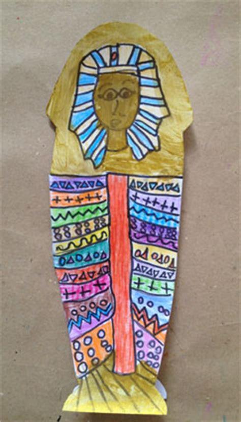 imagenes egipcias manualidades sarc 243 fago egipcio para ni 241 os con tus manitas