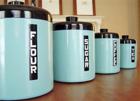 retro canisters kitchen do it yourself projects for your retro kitchen big chill