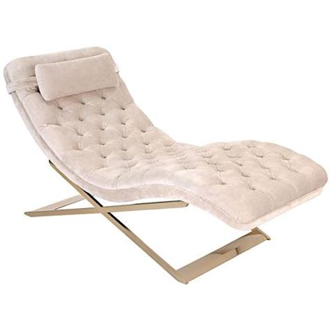 Velvet Chaise Lounge Na Chagne Tufted Velvet Indoor Chaise Lounge 9f112 Ls Plus