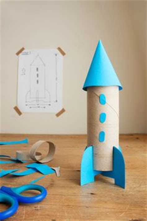 How To Make A Paper Rocket Ship That Flies - how to build a cardboard rocket ship cardboard rocket