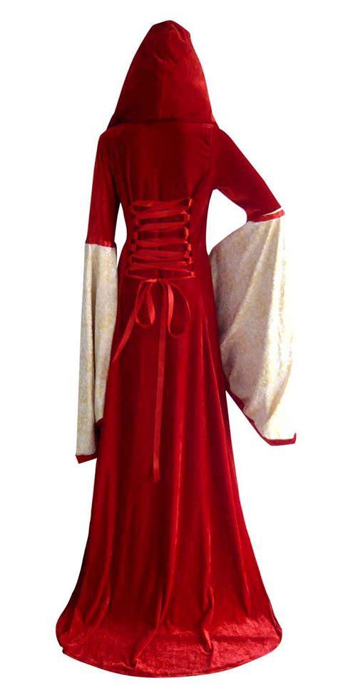 costume robe hooded robe costume n4969