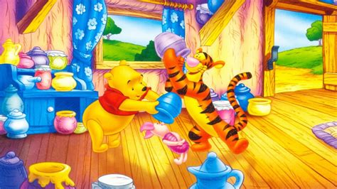 Honey Hunny The Pooh Iphone All Hp winnie the pooh tigger and piglet pots with honey walt disney desktop wallpapers hd