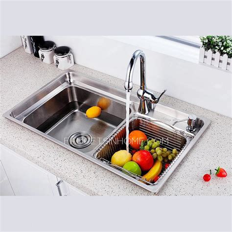 faucets for kitchen sinks best nickel brushed stainless steel kitchen sinks