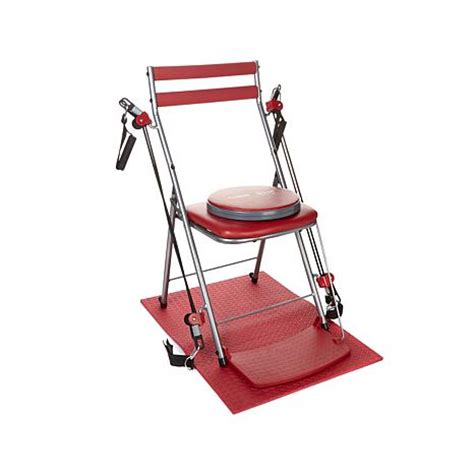 Chair Exercise System by Hsn Chair Exercise System With Seat Mat And